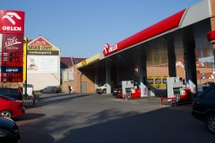 Netto supermarket and Orlen petrol station