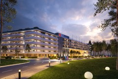 Residential apartments within Hilton Garden Inn hotel